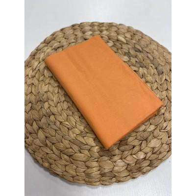 """000035 Хлопок Сатин 100% 160 см """"Оранжевый"""""""