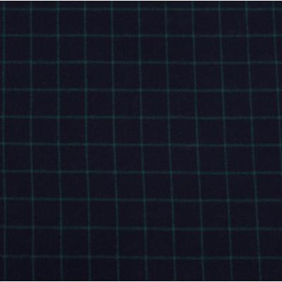"""""""Клетка Изумрудная на темном"""" Плательный Теплый Хлопок 100% Фланель"""