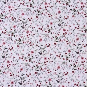 Батист Россыпь цветочков на белом Хлопок 65% вискоза 35% 95 гр 145 см