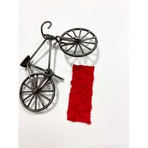 Плюш Минки Красный 100% пэ 155-160 см