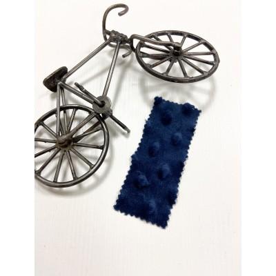 Плюш Минки Глубокий синий 100% пэ 155-160 см