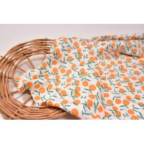 """0012 Хлопок Сатин 100 % 160 см """"Апельсины"""""""