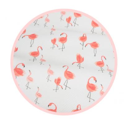 Трикотаж на водоотталкивающей основе Фламинго