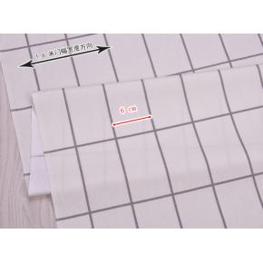 """0657  Хлопок Сатин 100% """"Клетка на светлом"""""""